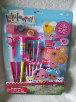 Lalaloopsy Stamp & Color Set Stamp/scissor/pencil And More