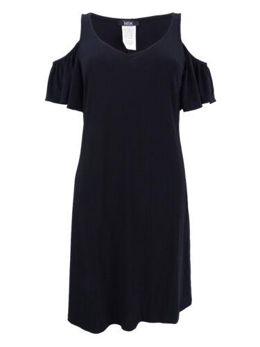 Msk Women/'s Cold-Shoulder  Dress