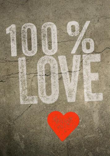 Postkarten mit Herz Postkarte Karte für Valentinstag Hochzeit Geburtstag Liebe