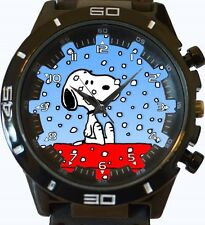 Snoopy In Snow New Gt Series Sports Unisex Gift Watch