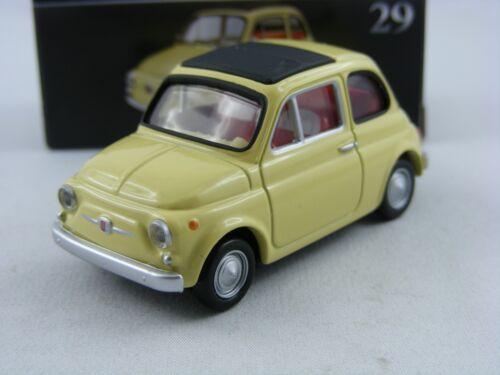 Takara Tomy Tomica Premium #29 1//45 Fiat 500F in beige