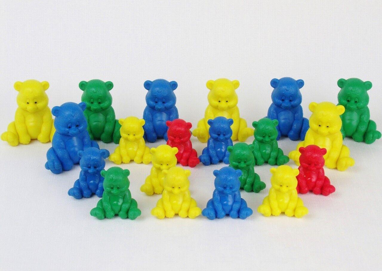 TEDDY BEAR Manipulatives MATH COUNTERS Homeschool Large Medium