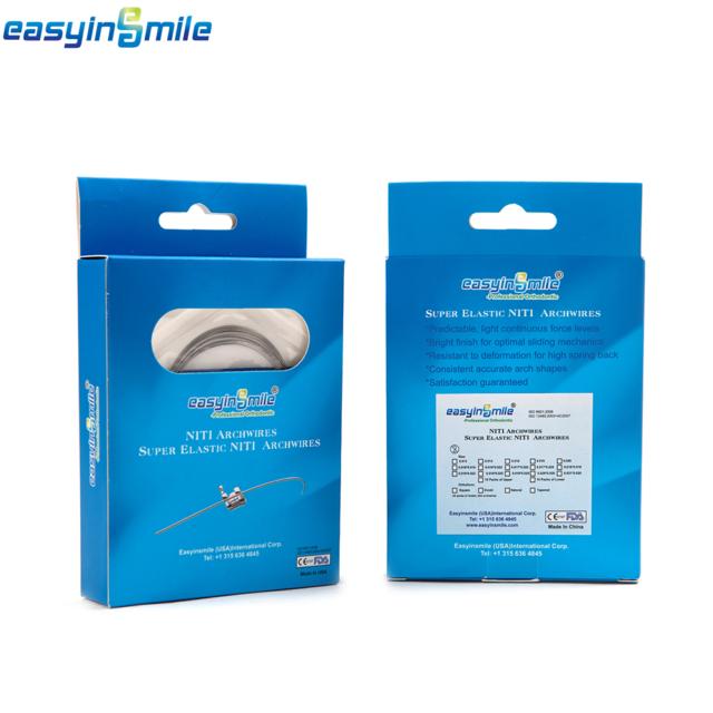 10packs Upper 10pack Lower Arch Wires Easyinsmile Orthodontic Niti ...