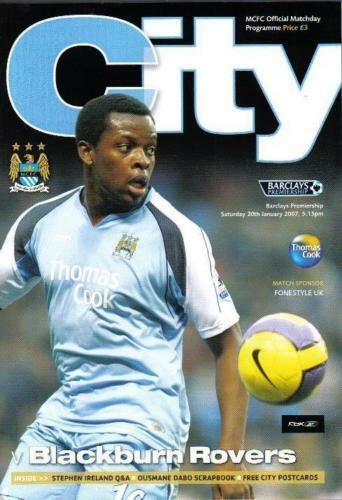 COLLECTION OF 16 x MAN CITY 200607 SEASON HOMES