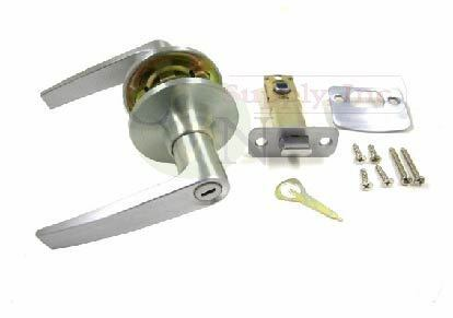 Brand New!! Dull Chrome Privacy Lever Lock