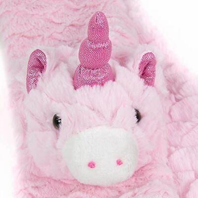100% Vero Global Gizmos Divertente Peluche Unicorno Rosa Sciarpa Per Ragazze-mostra Il Titolo Originale