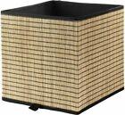 IKEA GNABBAS 32x35x32cm Storage Basket - Begie/Brown (604.002.98)
