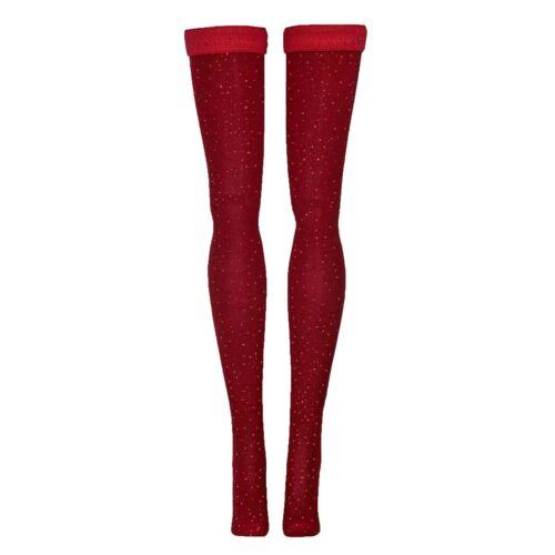 Red Doll Stockings for Wilde Imagination Ellowyne Evangeline Patience