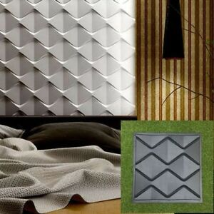 Details about Lot of 10pcs Different 3D Decorative Wall Panels ABS Plastic  mold for Plaster