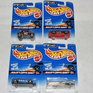 Hot Wheels 1996 Dealer's Choice Series Complete 4 Cars Unopened