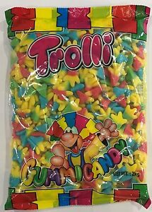 Details about 908152 2kg BULK BAG OF GUMMI CANDY - TROLLI CHICKEN FEET!! -  GREAT VALUE!