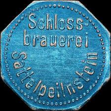 BIERMARKE: Gut für 1/2 Liter Bier. SCHLOSSBRAUEREI SATTELPEILNSTEIN, TRAITSCHING