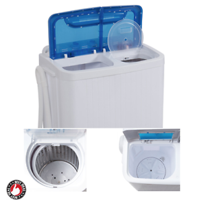 Washer and dryer combo apartment washing machine small portable rv compact top ebay - Small space washing machines set ...