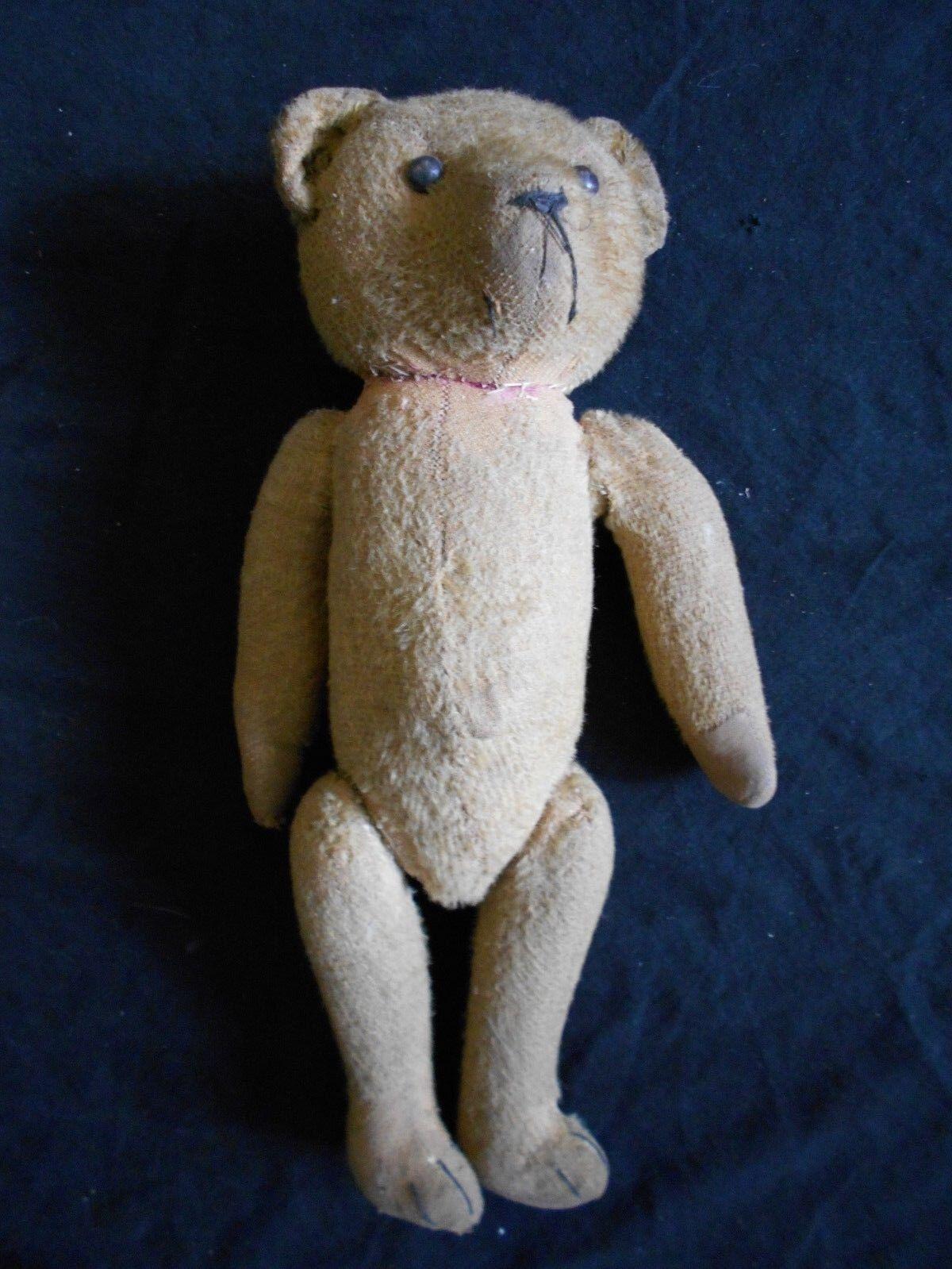 ANCIEN OURS  PELUCHE ARTICULE MECANISME TEDDY BEAR  JEU JOUET OLD TOYS