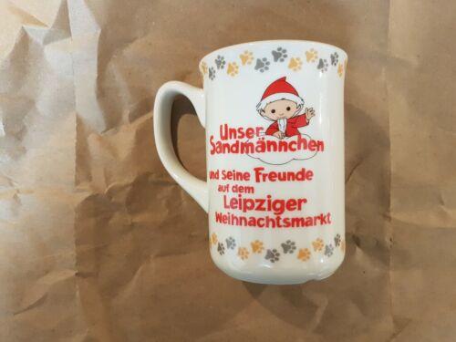 Moppi Glühweintasse Leipziger Weihnachtsmarkt 2019 NEU Produktionsjahr 2020