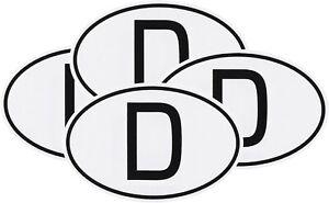 HR-IMOTION-4-x-Deutschland-D-Schild-Kennzeichen-D-Schild-Auto-Aufkleber-9-cm