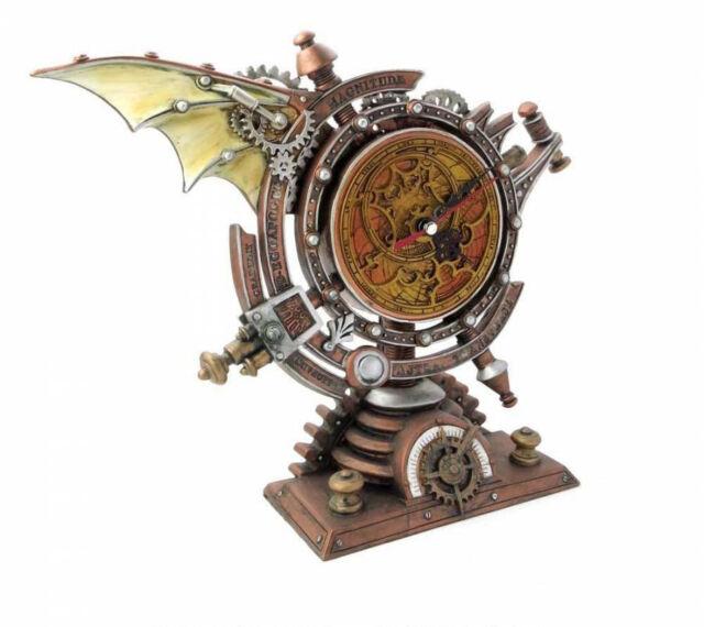 El Vault por Alchemy Gothic el Cronómetro Stormgrave de Pie Reloj Steampunk