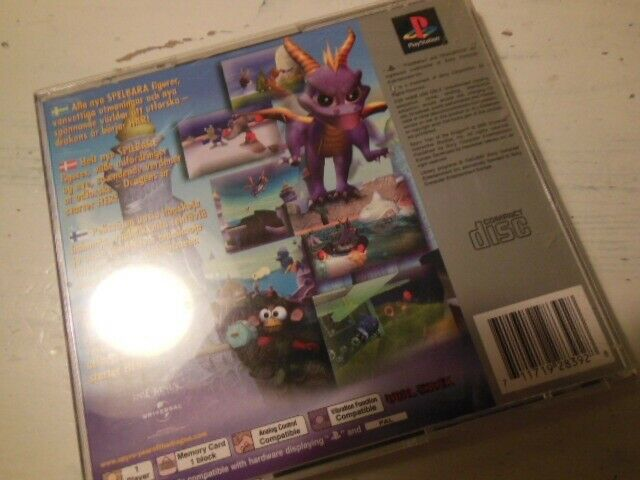 Spyro year of the dragon, PS