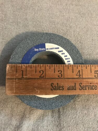 "NEW Bay State Dresser Grinding Wheel 60M6  4-1//4"" X 7//8"" X 2"" 1"
