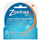 Post 2x Zovirax Cold Sore Cream Tube 2-Gram Antiviral Treatment