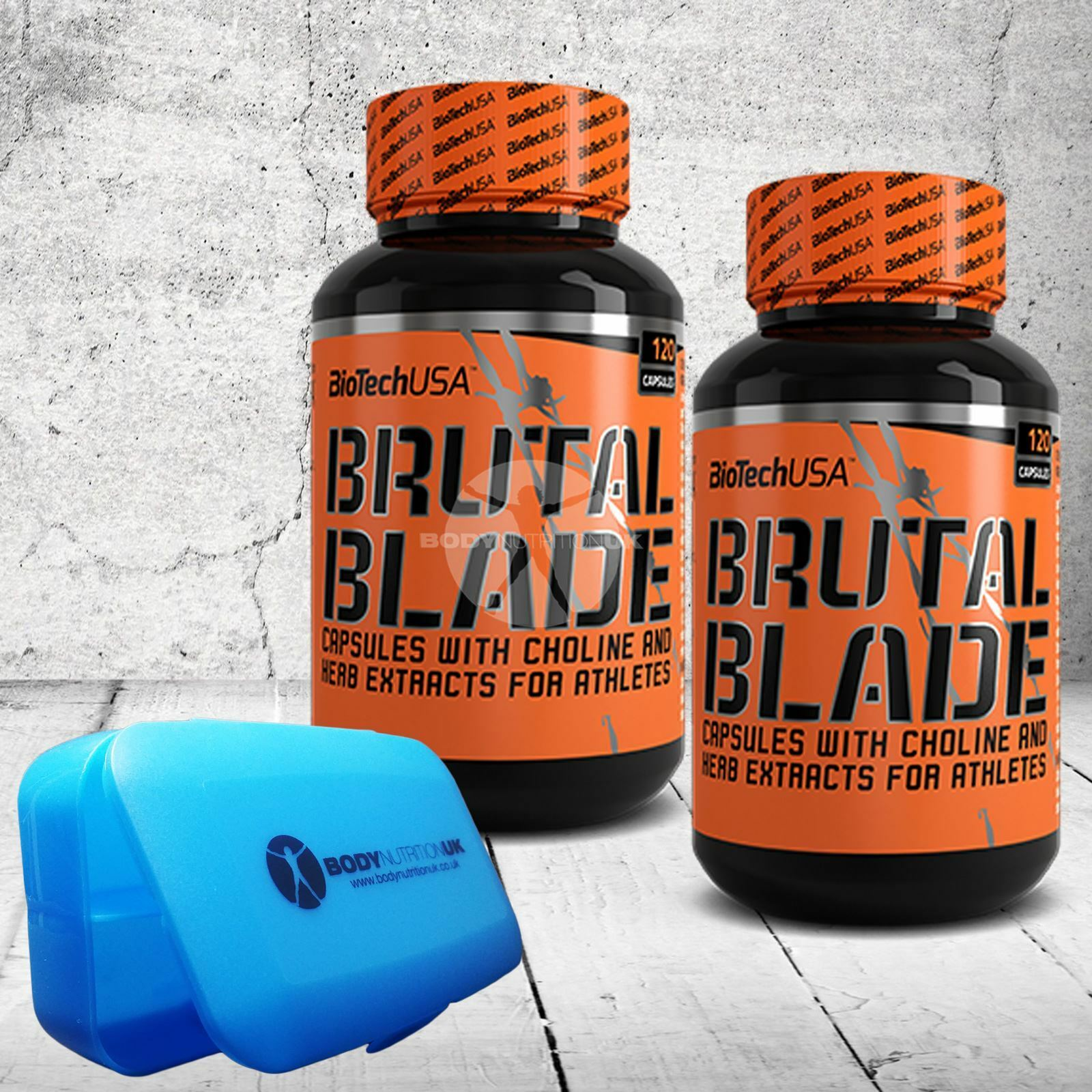 BioTech USA Brutal Blade 120 caps THERMOGENIC FORMULA Fat Burner ROTUCE BODY FAT