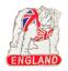 縮圖 1 - England Bulldog In A Union Jack Pin Badge