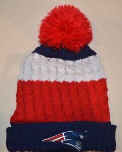 New England Patriots winter hat one size knit beanie Tom Brady  2710ceaec