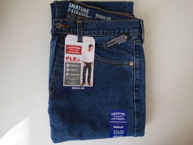 Signature by Levi Strauss   Co. Men s Regular Fit Jeans W34 X L29 ... 769fec4daf062