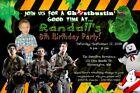Original GHOSTBUSTERS Birthday Celebrate Party Invitation