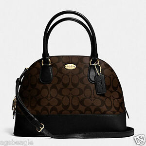 Coach-Bag-F33904-Signature-Cora-Domed-Satchel-Brown-Agsbeagle-COD