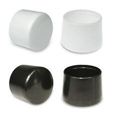 Rohrkappe 7 mm für runde Rohre Schwarz Stangen Schutzkappe Rundmaterial