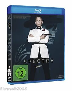 James-Bond-007-Spectre-Blu-ray-Uncut-NEU-OVP-Daniel-Craig-Christoph-Waltz