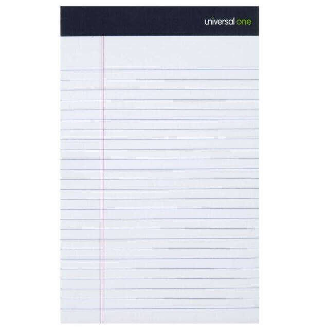 Universal Ruled Writing Pads
