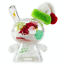 """2018 Kidrobot Exclusive 3/"""" Holiday /""""Party/"""" Dunny by JEC Limited to 500 pieces"""