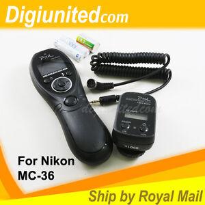 Pixel-Wireless-Timer-Remote-Control-Shutter-for-Nikon-MC-36-D3-D4-D300-D700-D800