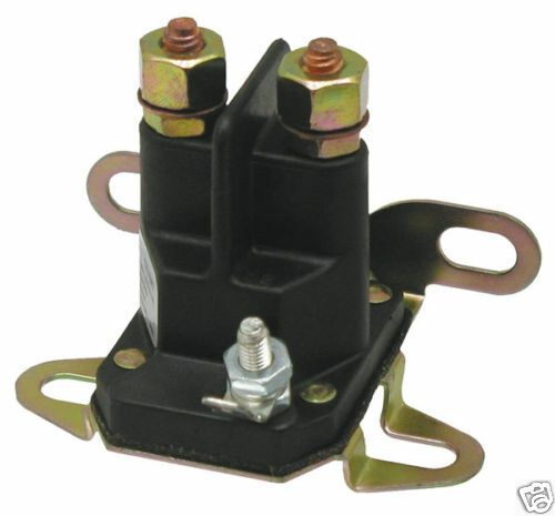Magnetschalter 12 Volt für Rasenmäher /& Rasentraktoren