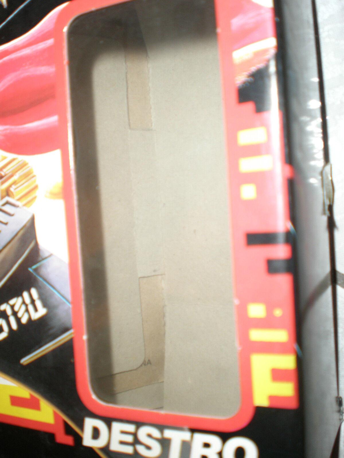 G.I. GI Joe Joe Joe 1988 DESTRO'S DESPOILER 100% MIB ACTION FORCE goldEN FACTORY ERROR da1f22