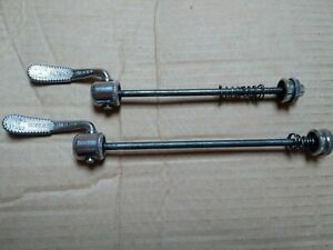 Vintage-Campagnolo-Skewers-1xpair-and-2-non-matching