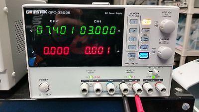 GW Instek GPD-3303S Triple Outlet DC Power Supply