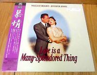 Love Is A Many Splendored Thing Laserdisc & Sealed