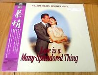 Love Is A Many Splendored Thing Laserdisc & Sealed