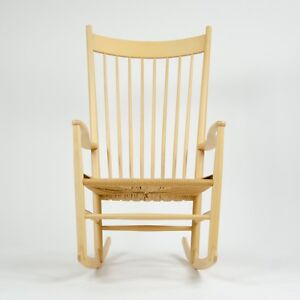 Fantastic Details About Vintage Hans Wegner J16 Rocking Chair Mobler Fdb Denmark Eames Knoll Kvist Onthecornerstone Fun Painted Chair Ideas Images Onthecornerstoneorg