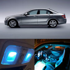 18Pcs Ice Blue Interior Canbus LED Light Package For 08-13 Benz W204 C-Class