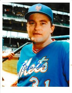 Bruce Berenyi Signed Autograph 8x10 Photo New York Mets