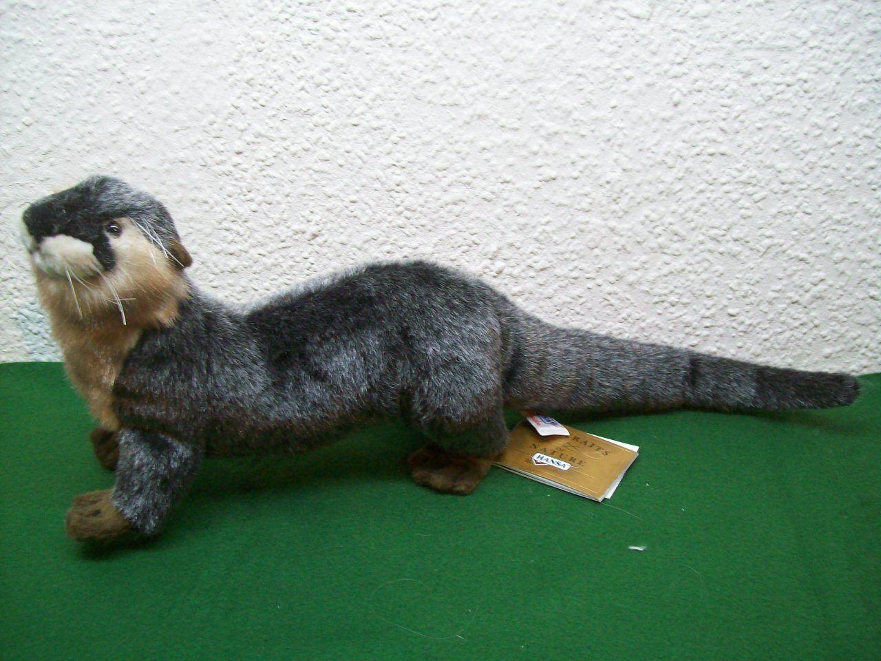 Fischotter Hansa Toy 3813 Stofftier Plüschtier anima Otter laufend 37 cm lang