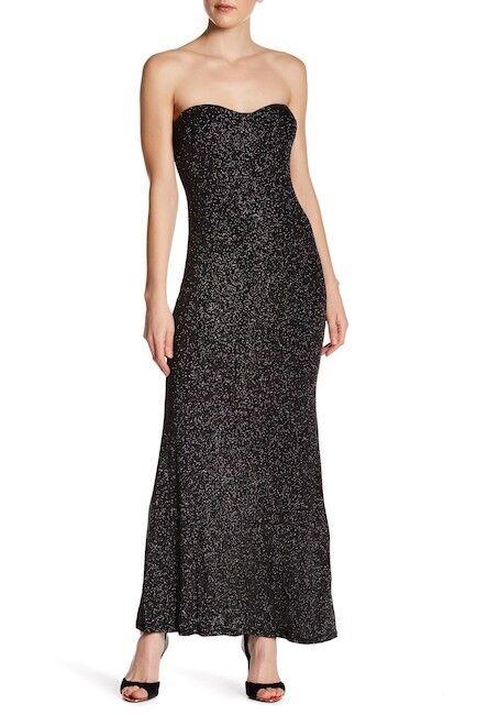 1cd67a7a0d3 Jump Junior s Evening Dress Strapless Long Gown Size 7   8 Black for sale  online