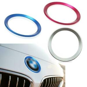 Car-Front-Rear-Logo-Surrounding-Ring-For-BMW-82-mm-amp-74-mm-Emblem