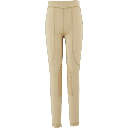 Beige All Sizes Dublin Performance Flex Knee Patch Kids Pants Riding Tights