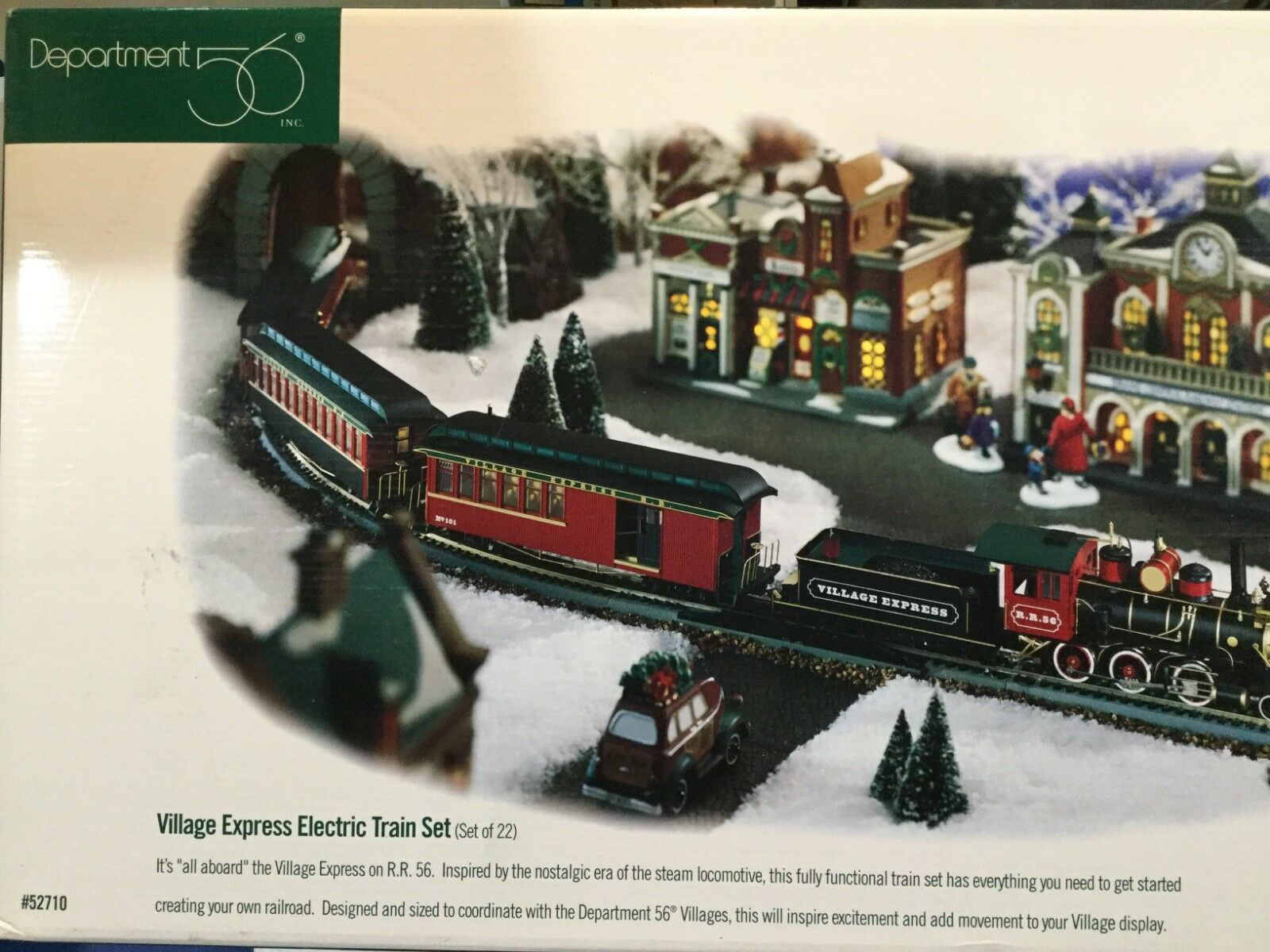 Dept 56® VILLAGE EXPRESS TRAIN - BRAND NEW - NEVER REMOVED FROM BOX