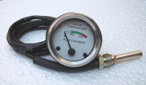 Allis Chalmers Water Temperature Gauge for WD45 Dsl D10,D12,D14,D15,D17 Gas//Dsl